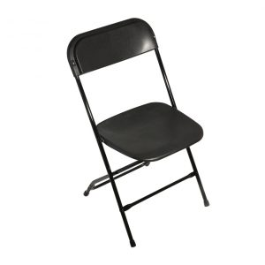 Black Samsonite Chair
