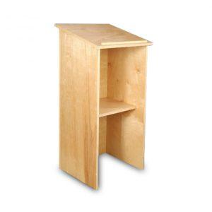 Pine Wood Podium