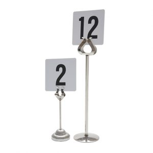 Table Number Stands