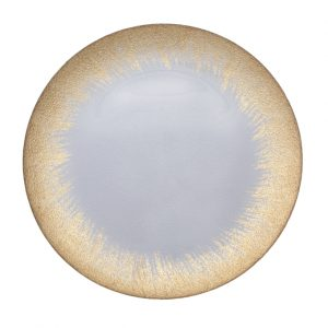 Eclipse Gold Glass Charger