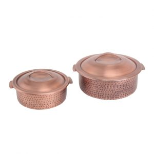 Hammered Burnt Copper Dutch Ovens