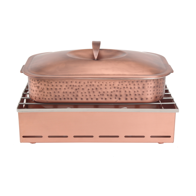 CHAFING POTS AND STANDS