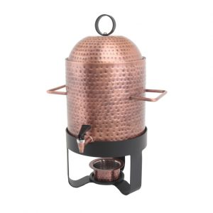 Hammered Copper 60 Cup Samovar